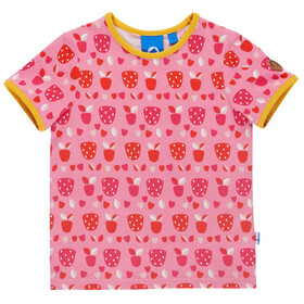 Finkid Tuumi T-Shirt SS Kids strawberry/freesia